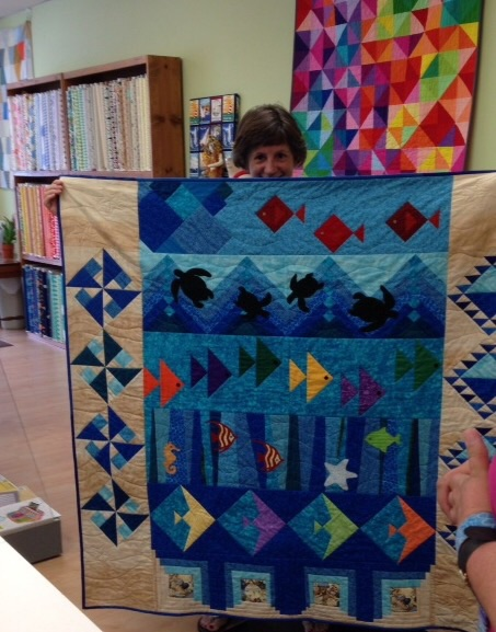 We Have A Row By Row Experience Winner The Bolt Quilt Shop