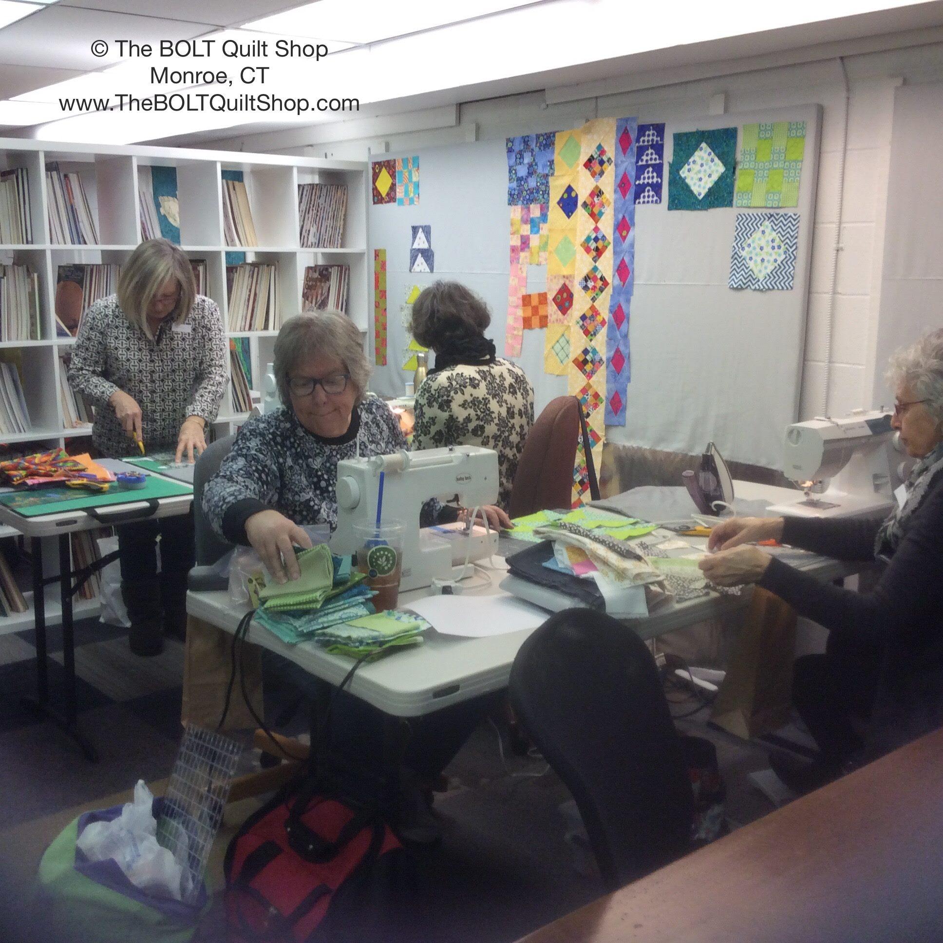 Classes & Events | The BOLT Quilt Shop : quilt shops in ct - Adamdwight.com